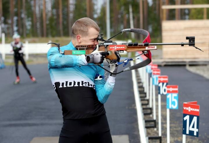 Heikki Laitinen (arkistokuvassa) taipui niukasti Tero Seppälälle.