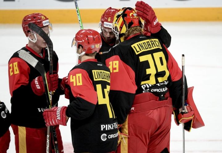 Jokerit löi tiistaina Lokomotiv Jaroslavlin 2–0. LEHTIKUVA / Mikko Stig
