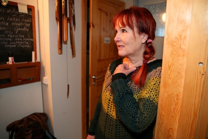 Tarja Tuovinen on työskennellyt sairaanhoitajana eri puolilla maailmaa. Kuvassa Tuovinen vuonna 2019.