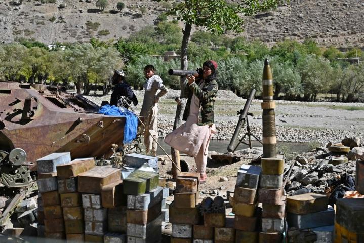 Elokuussa valtaan noussut Taleban on lupaillut maltillisempaa hallintoa kuin edellisellä kerralla. Lehtikuva/AFP