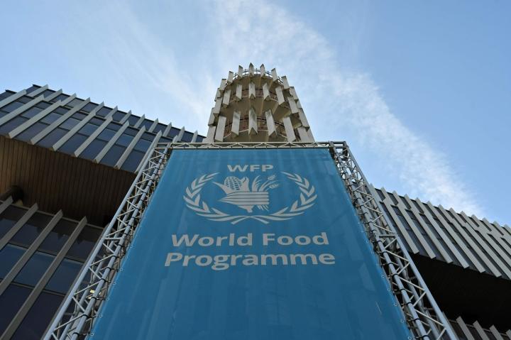 YK:n humanitäärisiä lentoja hallinnoivaa palvelua operoi YK:n alainen Maailman ruokaohjelma WFP. LEHTIKUVA/AFP