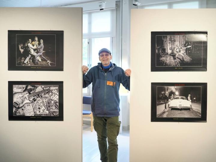 Pääkaupunkiseudulla asuva valokuvaaja Risto Vuorimies kuvasi Hurriganesia yhtyeen kiertueella ja teki yhtyeen kolmen ensimmäisen levyn kannet.