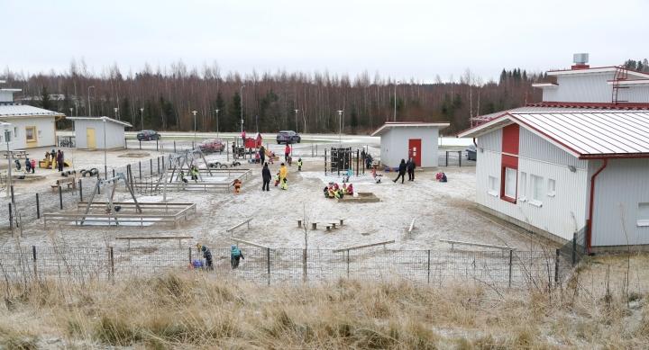 Arkistokuva Touhula Aarrekartta -päiväkodista, jossa korona-altistuminen on tapahtunut.