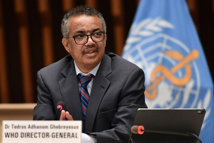 WHO:n pääjohtaja Tedros Adhanom Ghebreysus pyysi anteeksi Kongon demokraattisessa tasavallassa tapahtunutta seksuaalista hyväksikäyttöä, johon syyllistyi WHO:n henkilökuntaan kuuluneita ihmisiä. LEHTIKUVA/AFP