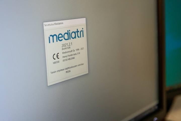 Nykyisin Siun sotessa on käytössä Mediatri-potilastietojärjestelmä.