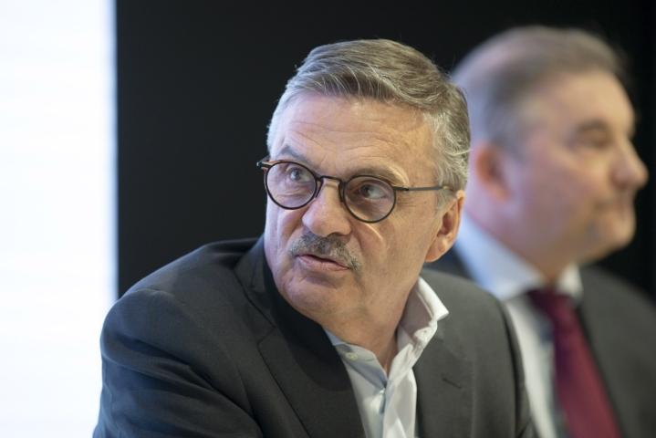 Rene Fasel johti liittoa vuodesta 1994 lähtien. LEHTIKUVA / Kalle Parkkinen