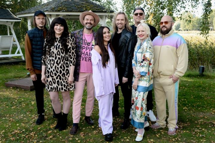 Toistensa kappaleita esittää tällä kaudella kahdeksan kotimaista artistia, jotka kaikki ovat mukana sarjassa toista kertaa. LEHTIKUVA / MIKKO STIG