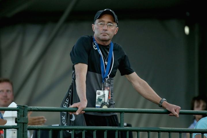 Salazarin toimintakieltoon johtaneet dopingrikkomukset osuvat vuosiin 2010–2014. LEHTIKUVA/AFP