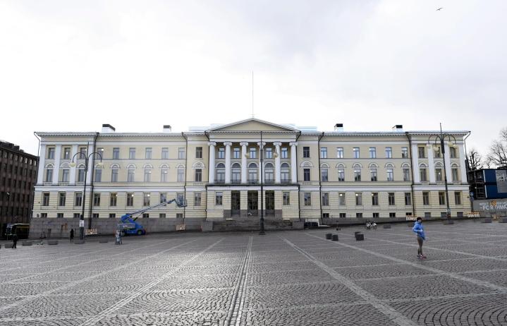 Helsingin yliopisto oli jaetulla sijalla 101. LEHTIKUVA / VESA MOILANEN