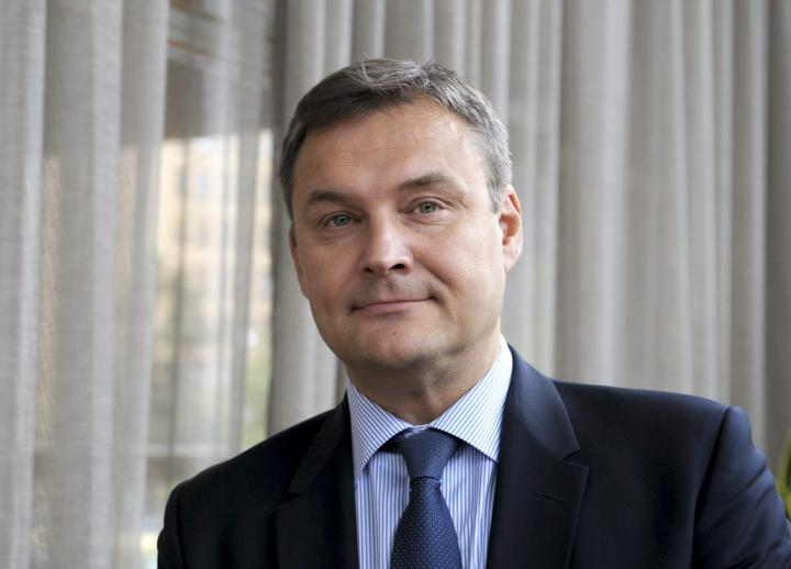 Husin hallituksen kokouksessa 11 kannatti Matti Bergendahlia uudeksi toimitusjohtajaksi. LEHTIKUVA / Milla Takala