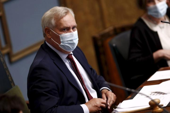 IS:n tietojen mukaan ex-pääministeri Antti Rinteestä tulisi työministeri. LEHTIKUVA / Roni Rekomaa