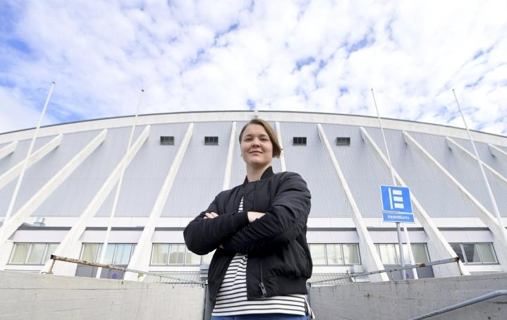 Keisala teki Kanadassa kansainvälisen läpimurtonsa, kun hän ykkösvahdin paikan vakiinnutettuaan auttoi Suomen MM-pronssille. LEHTIKUVA / VESA MOILANEN