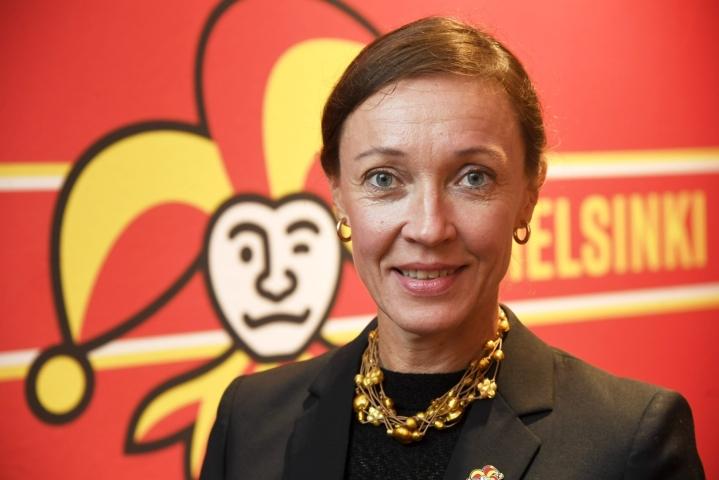 Eveliina Mikkola ei jatka Jokereiden toimitusjohtajana. LEHTIKUVA / MARKKU ULANDER