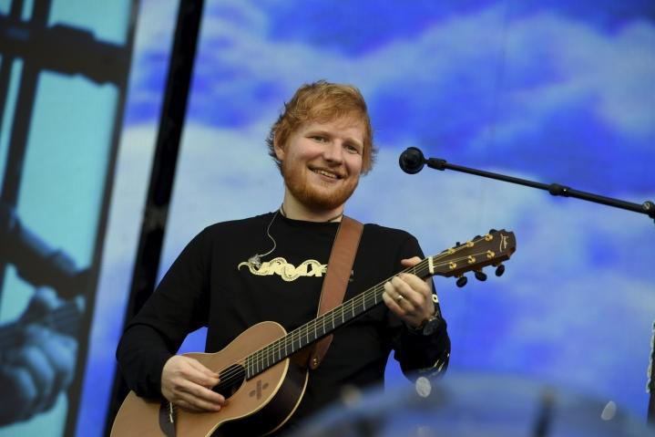 Kiertueella Sheeran palaa stadioneille ensimmäistä kertaa Divide-maailmankiertueensa (2017–2019) jälkeen. LEHTIKUVA / EMMI KORHONEN