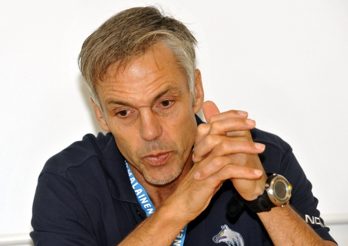 Suomalais-kanadalainen koripallovalmentaja Gordon Herbert on valittu Saksan maajoukkueen päävalmentajaksi. LEHTIKUVA / Sari Gustafsson