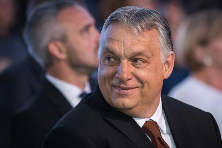 Pääministeri Orban on ollut vallassa vuodesta 2010, ja hän on voittanut kolmet vaalit peräjälkeen. LEHTIKUVA/AFP