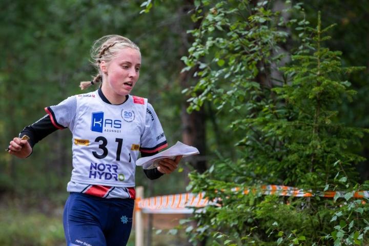 Siiri Silvennoinen kilpailee syyskuun lopussa Sveitsissä. Silvennoinen kuvattuna tämän vuoden Jukolan viestissä Rovaniemellä.