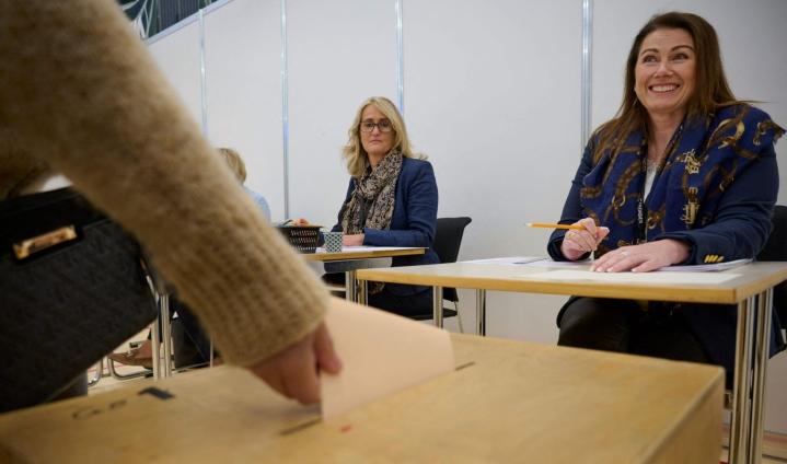 Islantia on pidetty sukupuolten tasa-arvon pioneerimaana. LEHTIKUVA / AFP