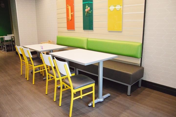 Kauppakadun uusi Subway-ravintola sijaitsee aivan kaupungin ytimessä.