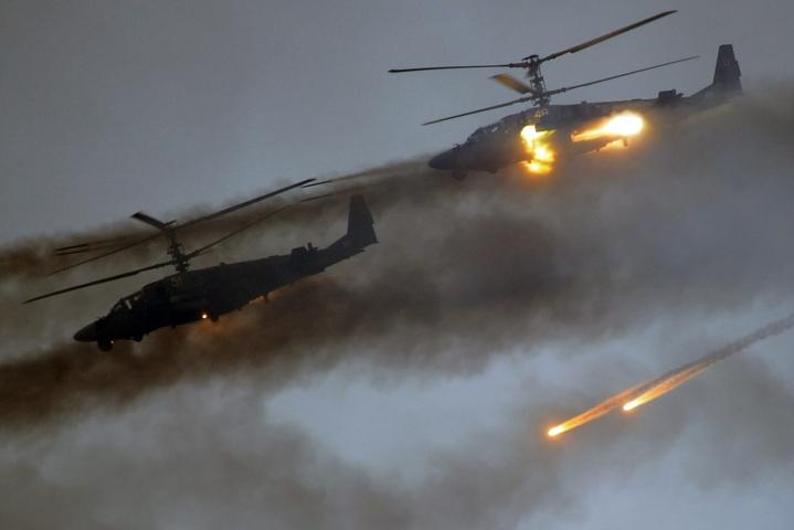Venäjä järjesti edellisen suuren Zapad-sotaharjoituksensa vuonna 2017. LEHTIKUVA/AFP.