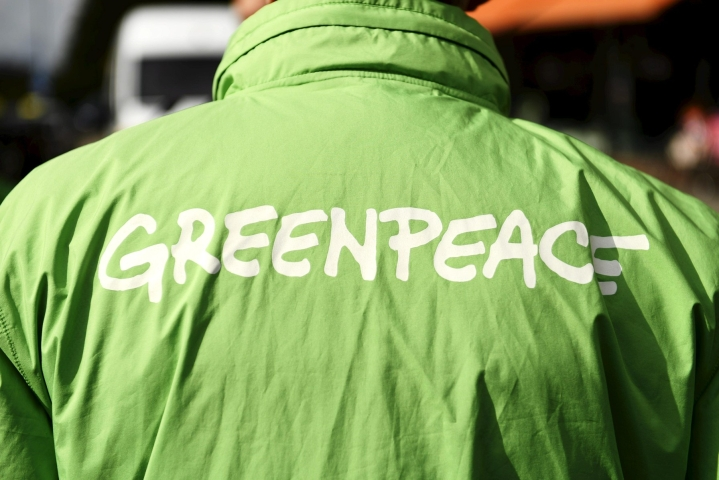 Greenpeacen toimisto avattiin Suomeen virallisesti vuonna 1989. LEHTIKUVA / VESA MOILANEN