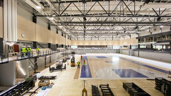 Mehtimäkihallin rakentamisessa eletään jo viimeisiä vaiheita. Halli on valmis loppuvuodesta, ja Joensuun Katajan koripallomiehistö siirtyy pelaamaan sinne tammikuussa.