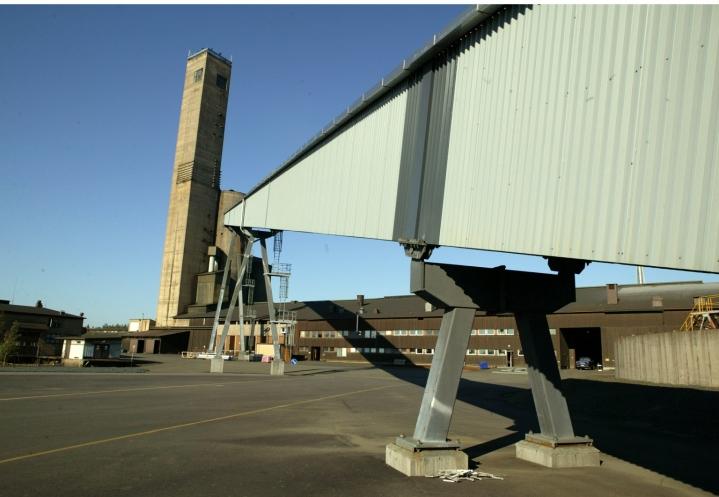 Hallitus tukee pumppuvoimalaitoksen rakentamista Pyhäsalmen käytöstä poistuvaan kaivokseen. LEHTIKUVA / Timo Toivanen