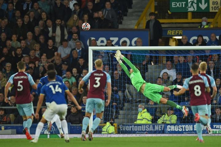 Everton kukisti illan ottelussa Burnleyn 3–1. LEHTIKUVA / AFP