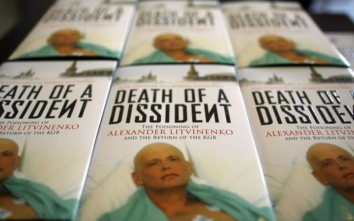 Entinen agentti Aleksandr Litvinenko kuoli Lontoossa vuonna 2006 juotuaan radioaktiivisella poloniumilla myrkytettyä teetä. LEHTIKUVA / AFP