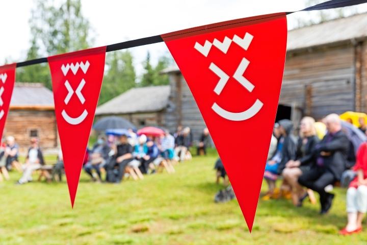 Pohjois-Karjalassa on juhlittu tänä vuonna 300-vuotista taivalta. Kuva Valtimolta.