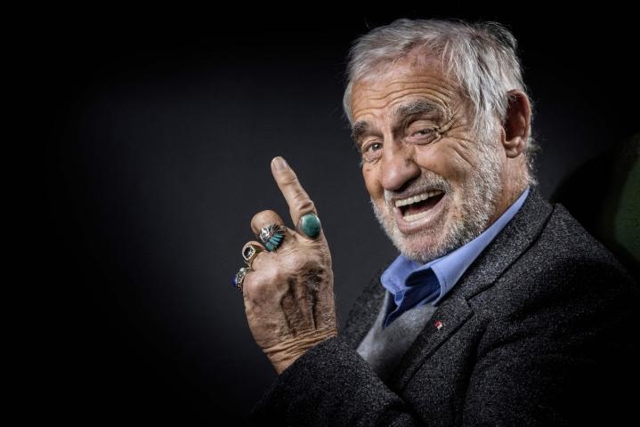 Yksi sodanjälkeisen ranskalaisen elokuvan suurimmista tähdistä Jean-Paul Belmondo on kuollut 88-vuotiaana. LEHTIKUVA/AFP