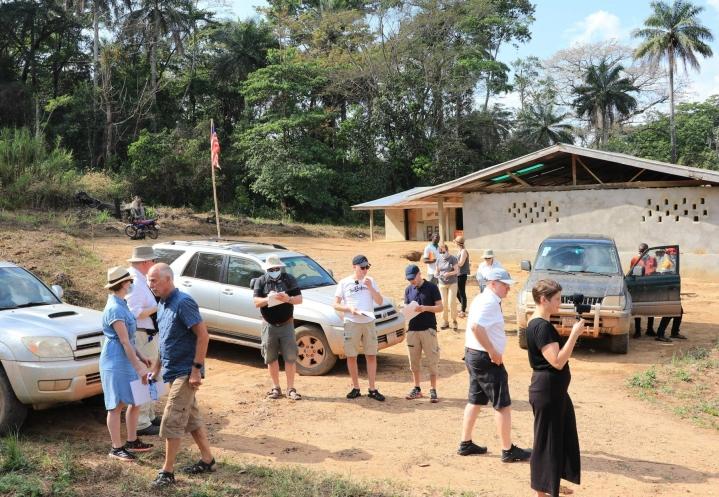 Pirkanmaan käräjäoikeus matkustaa jo toista kertaa Länsi-Afrikkaan todistajia kuulemaan. LEHTIKUVA / AFP