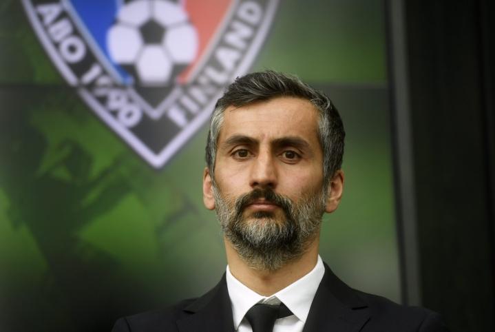 Jose Riveiro ei jatka Interin valmentajana ensi kaudella. LEHTIKUVA / Vesa Moilanen
