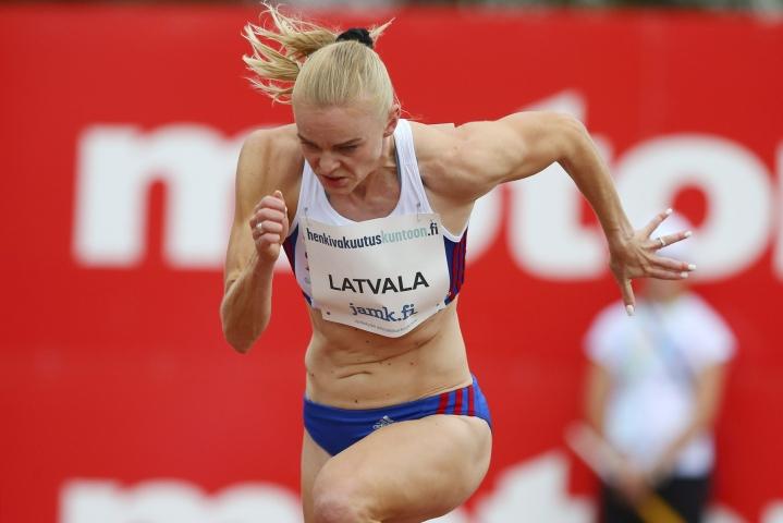 Päkkin sadan metrin ennätys on 11,30. Hänen tunnettiin pitkään sukunimellä Latvala. Lehtikuva / Tommi Anttonen