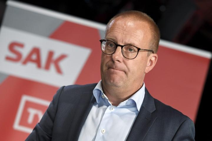 SAK:n puheenjohtajan Jarkko Elorannan mukaan ammattiyhdistysliikkeen tulee olla mukana paikallisessa edunvalvonnassa.  LEHTIKUVA / MARKKU ULANDER