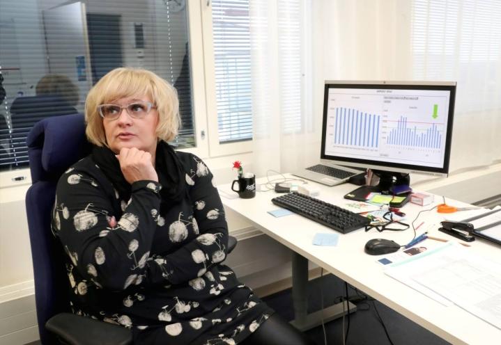Siun soten henkilöstöjohtajan Johanna Bjerregård Madsenin mukaan kysely uusitaan muutaman viikon kuluessa. Arkistokuva.