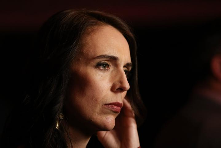 Uuden-Seelannin pääministeri Jacinda Ardern nimitti Aucklandin hyökkäystä terrori-iskuksi. LEHTIKUVA/AFP