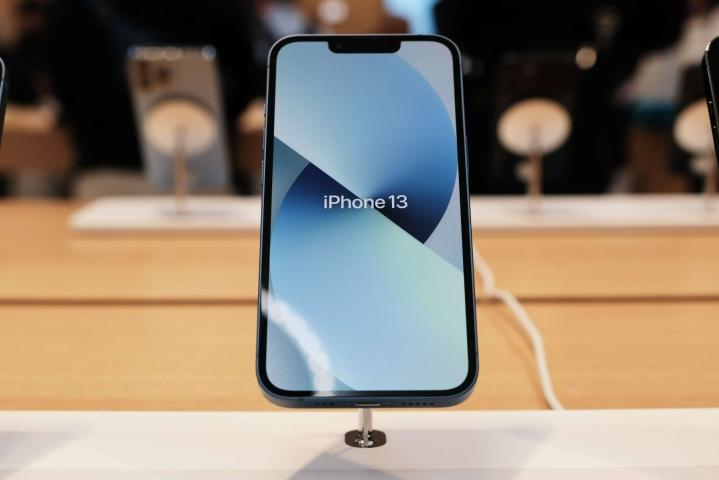 Apple esitteli uuden iPhone 13 -puhelinmallistonsa viime kuussa. LEHTIKUVA/AFP