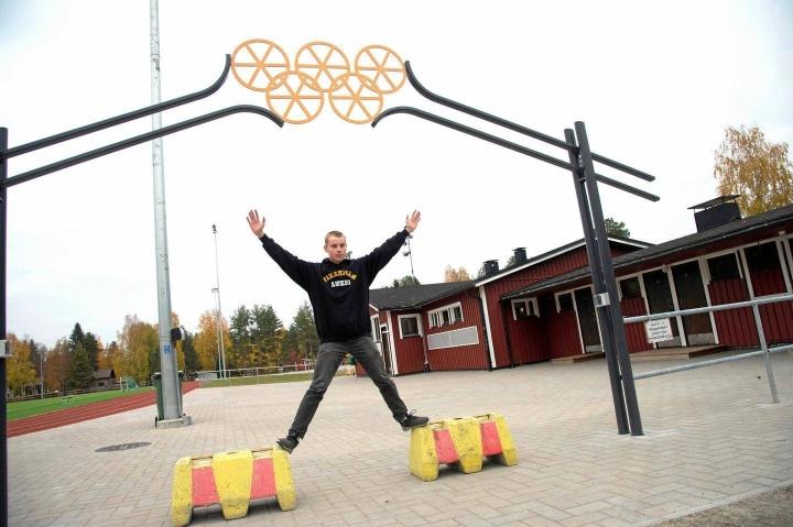 18-vuotias vieremäläinen Mikko Kauppinen juoksi tiistaina Cooperin testissä uudeksi ennätyksekseen 3 830 metriä.