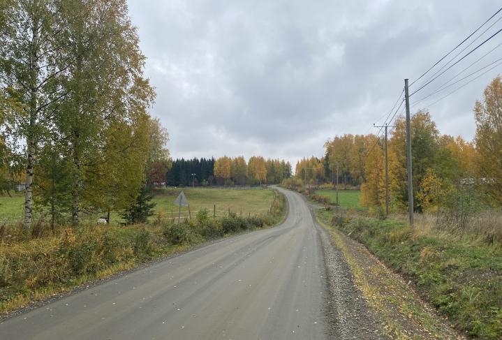 Pyhäselässä sijaitsevan Rekivaaran syysmaisema lokakuun ensimmäisenä päivänä.