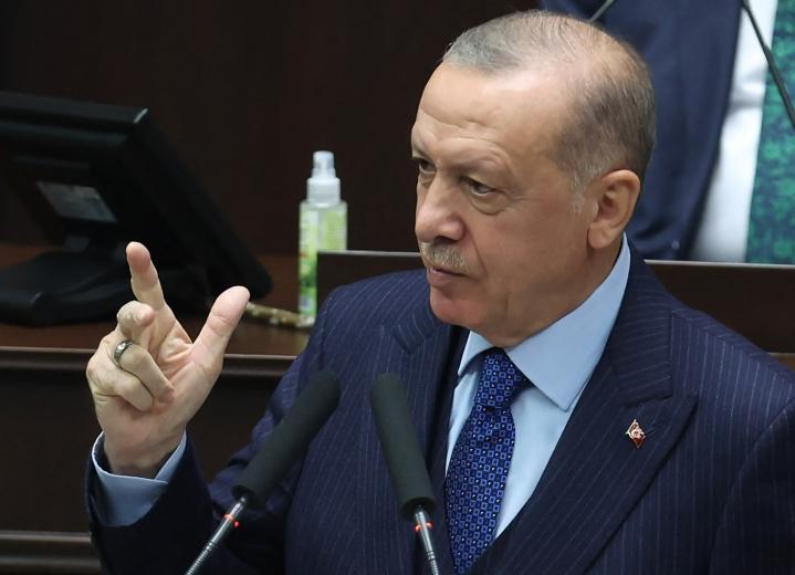 Turkkia hiersi sopimuksessa muun muassa se, että maa on määritelty sopimuksessa kehittyneeksi valtioksi, vaikka se itse katsoo olevansa kehittyvä valtio. LEHTIKUVA / AFP