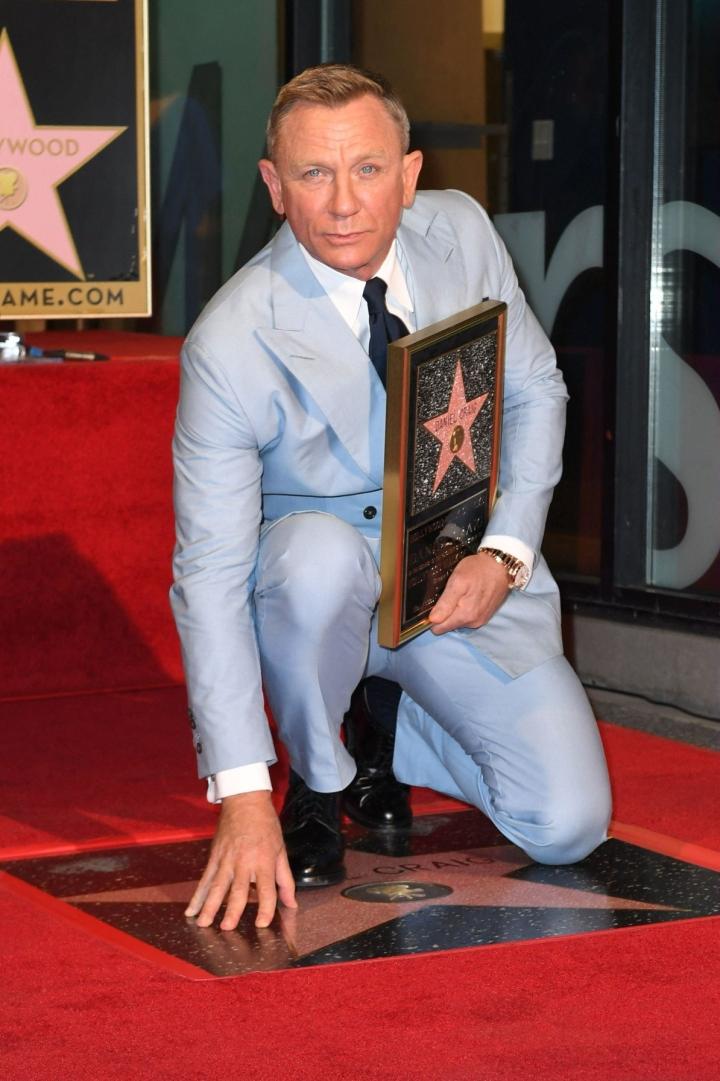 Daniel Craigin tähdittämä No Time To Die oli viikonlopun katsotuin elokuva Pohjois-Amerikan valkokankailla. LEHTIKUVA / AFP