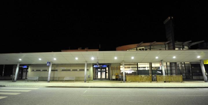 VTT:n tutkimustiimin päällikön Marko Paakkisen mukaan sähkölentokone voisi soveltua esimerkiksi reitille Vaasasta Kuopioon. LEHTIKUVA / TIMO JAAKONAHO
