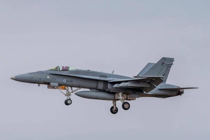 Viimeiset Hornetit poistuvat Ilmavoimien käytöstä 2030-luvun alkupuolella.