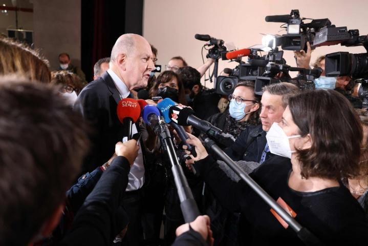 Komission puheenjohtajan Jean-Marc Sauven (kuvassa) mukaan kirkko suhtautui 2000-luvun alkuun asti hyväksikäytön uhreihin piittaamattomasti. LEHTIKUVA/AFP
