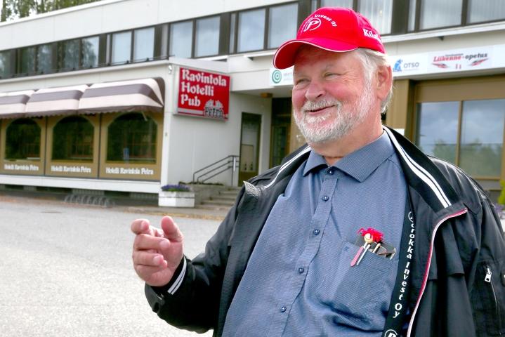 Jouni Porokka arkistokuvassa syksyllä 2019.