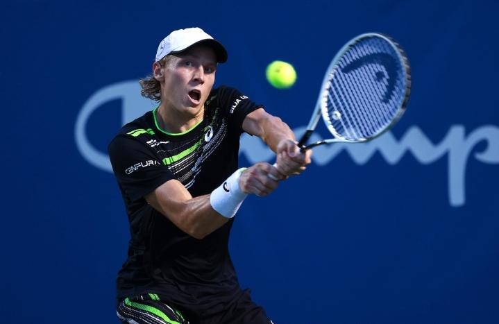 Emil Ruusuvuori pelasi elokuussa Yhdysvaltain Pohjois-Carolinassa. LEHTIKUVA / AFP