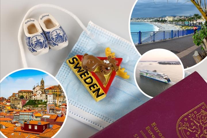 Matkailijat kertovat tuoreita matkustuskokemuksiaan muun muassa Portugalista, Hollannista, Ranskasta ja Ruotsista.