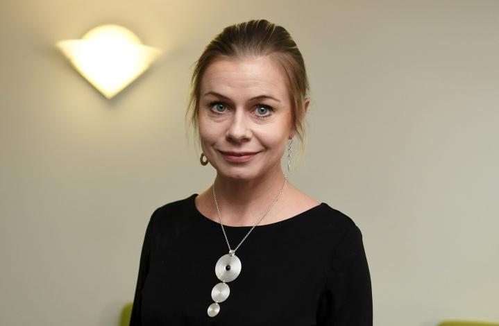 Peliyhtiö Supercell ja sata muuta kasvuyritystä ja sijoittajaa ovat perustaneet startup-yhteisön, jonka toimitusjohtajaksi on nimitetty keskustan varapuheenjohtaja Riikka Pakarinen. LEHTIKUVA / Vesa Moilanen