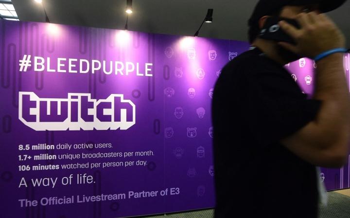 Twitch on alun perin perustettu videopelistriimausta varten, mutta sitä käytetään nykyään hyvin monenlaisen sisällön striimaukseen. LEHTKUVA/AFP